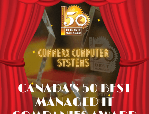 3rd Year Running Commerx Awarded One of Canada's 50 Best Managed IT Companies