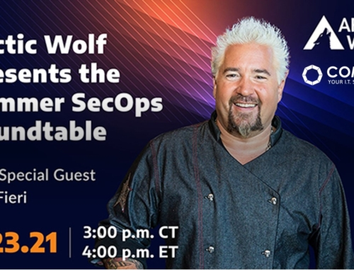 Arctic Wolf's Summer SecOps Roundtable with Special Guest Guy Fieri