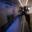 girl in Server room